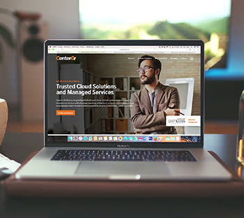 Website development vector image. Webpage deployment mockup design ideas. Orange & White color. CMS. Plugins. GetSolutions