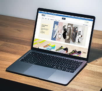 Ecommerce| Shoe store |Online |Website mockup ideas |Web specialists| Sneakers| Neon colors| Browser |SEO |Affordable